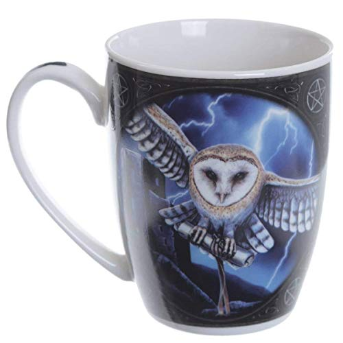 Tasse Becher Kaffeebecher Schleiereule Heart of the Storm Design by Lisa Parker