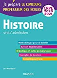 Histoire - Professeur des écoles - Oral / admission - CRPE 2020-2021 (2020-2021)