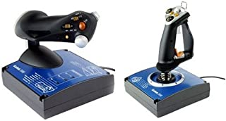 Saitek J24C X45 Flight Control System Joystick and Throttle (USB)