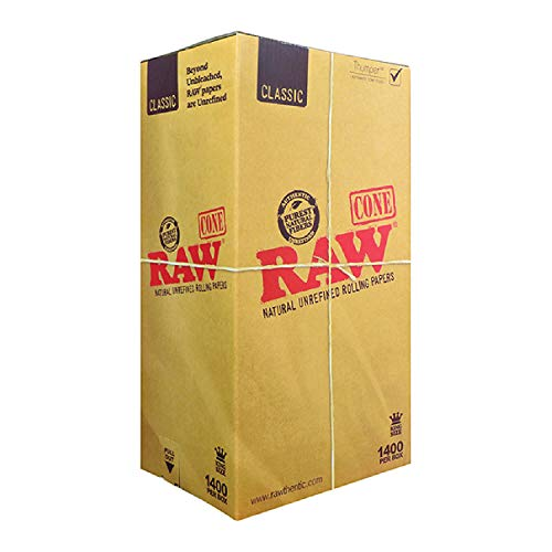 RAW 1400 Classic King Size Cones