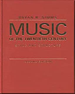 Music of the Twentieth Century: Style and Structure