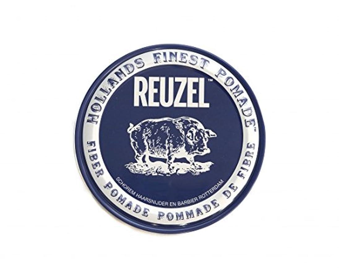 動物園ためらう通貨ルーゾー REUZEL ファイバーポマード ネイビー 113g