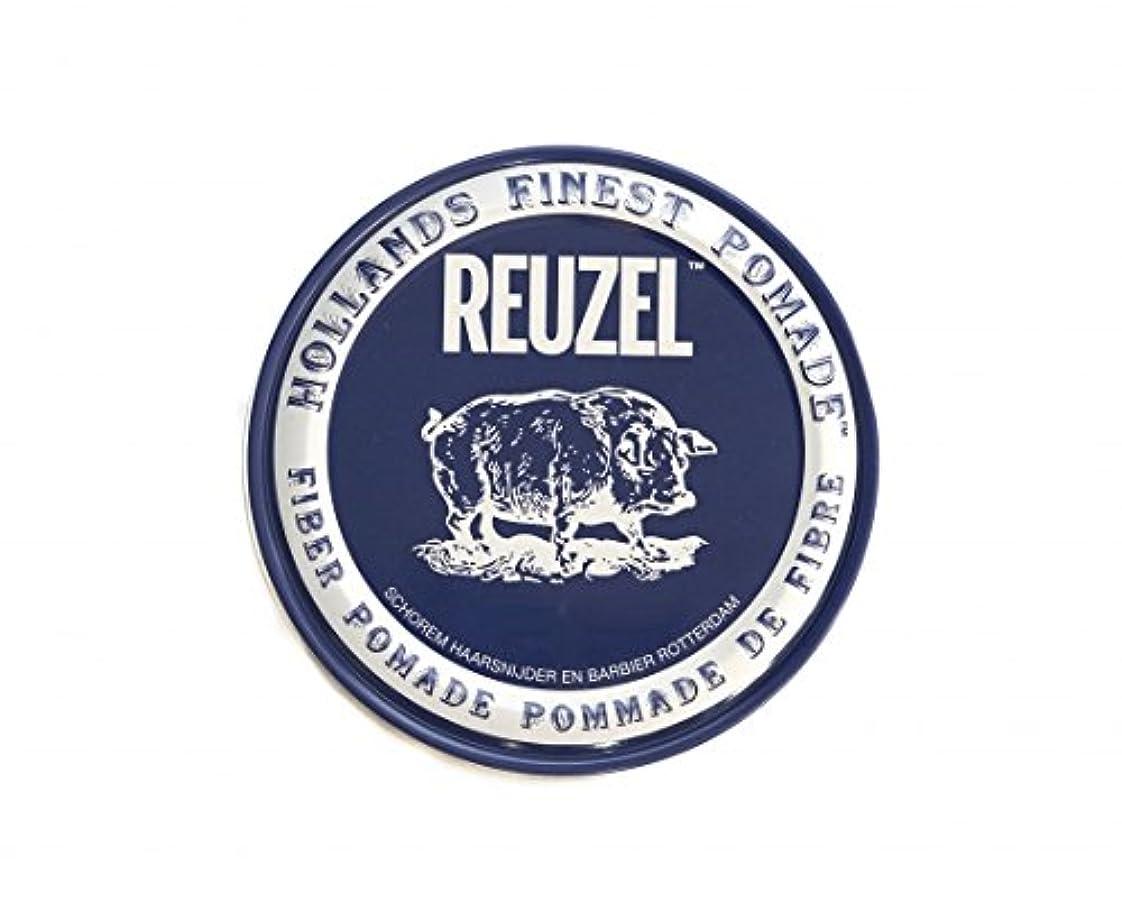 多様体簡単にバランスのとれたルーゾー REUZEL FIBER ファイバー ポマード ネイビー 340g
