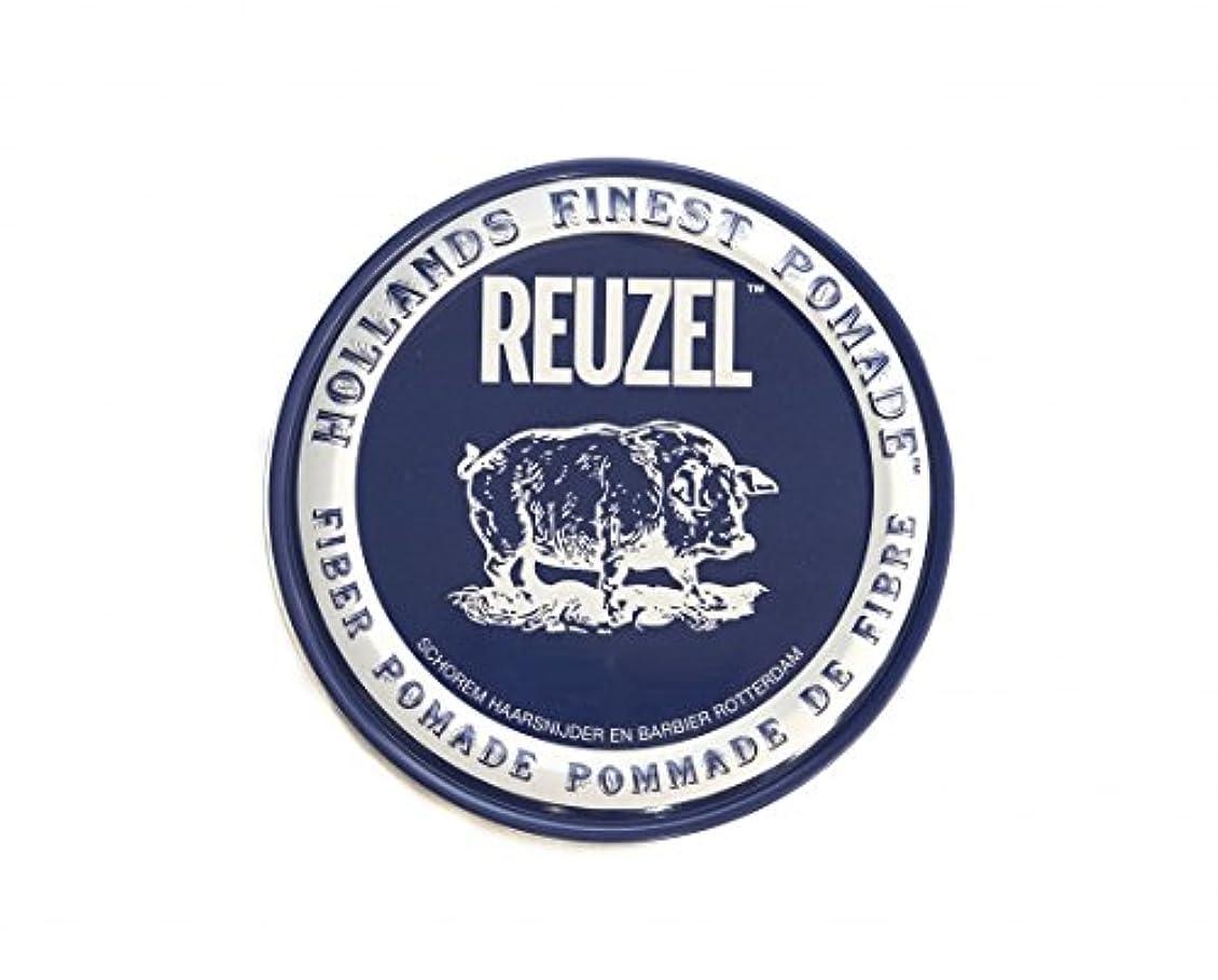 チーズ趣味悲しみルーゾー REUZEL ファイバーポマード ネイビー 113g