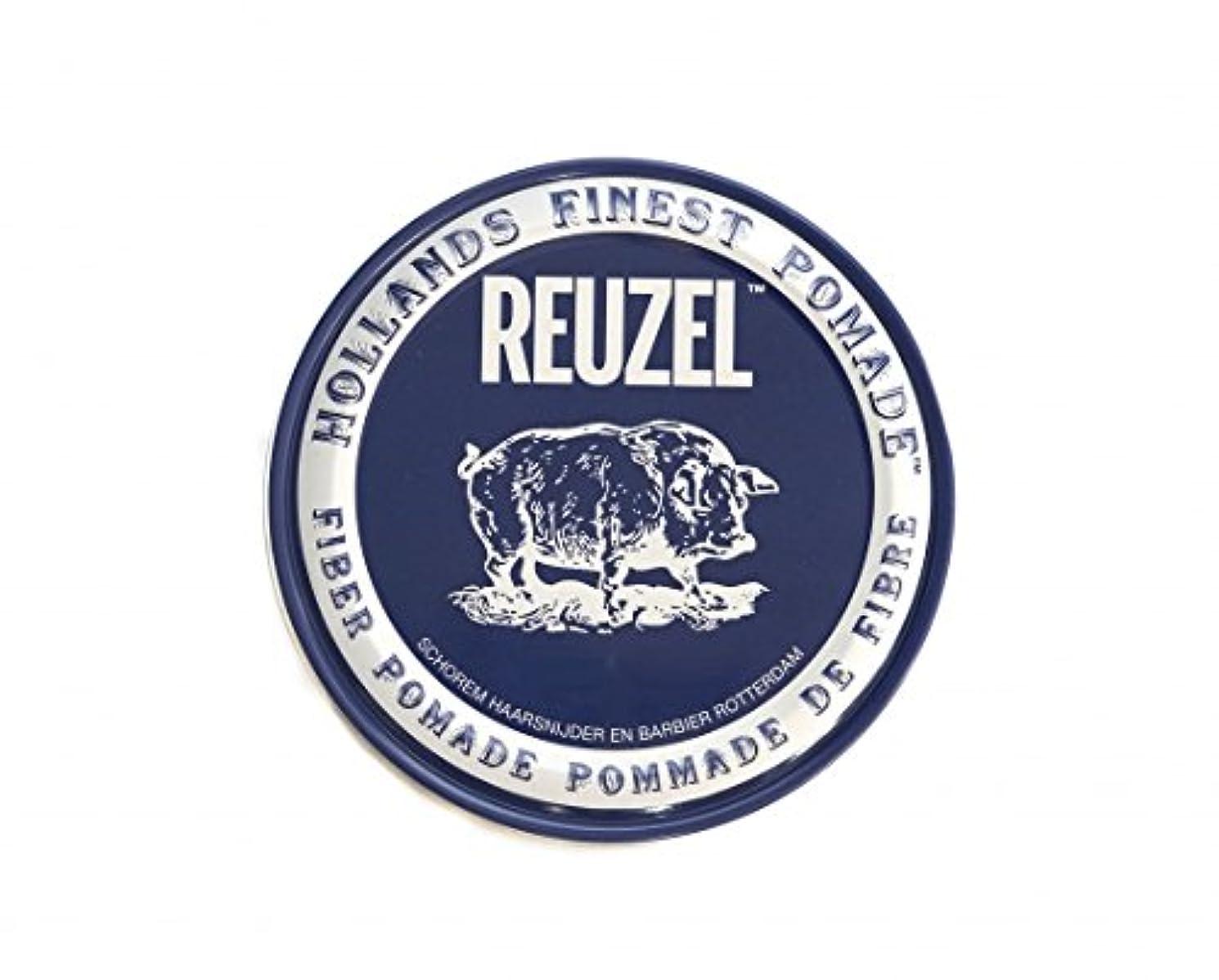 司法孤独なカッタールーゾー REUZEL ファイバーポマード ネイビー 113g