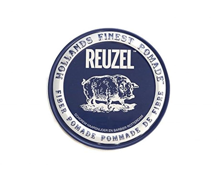 獲物文明化記念日ルーゾー REUZEL ファイバーポマード ネイビー 113g