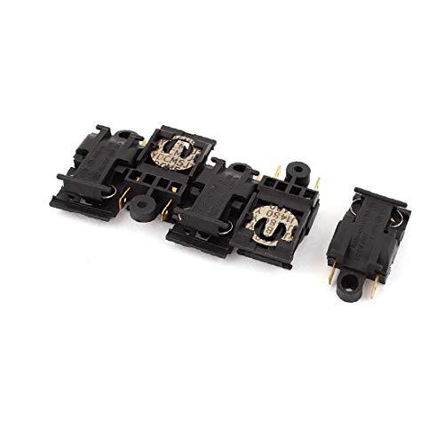 X-DREE AC 220-250V 10A Chaleira Elétrica Termostato Interruptor de temperatura 5 unidades(AC 220-250V 10A Contrôleur température thermostat élec. élec. Commutateur. 5Pcs)