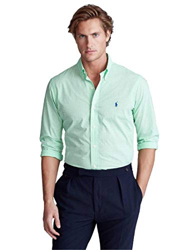Ralph Lauren Hemd grün kariert für Herren, Grün S
