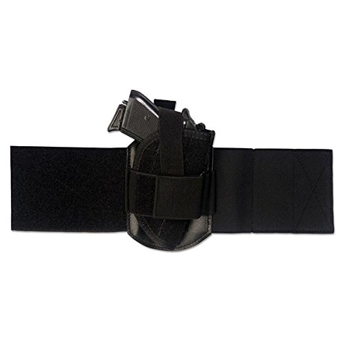 Elite Survival Systems Ankle Holster Fits Ruger LCP Kel-Tec P3AT P-32 Taurus PT22/25 Walther Tph22/25 AAHS-1 Ankle Holster Fits Ruger LCP Kel-Tec P3AT P-32 Taurus PT22/25 Walther Tph22/25 Black, 1