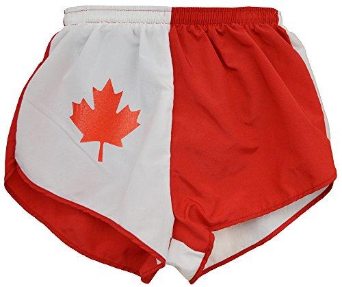 canada flag shorts - 4