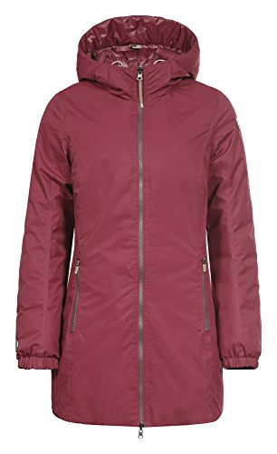 Icepeak Damen Tara Reversible Coat Burgundy 46