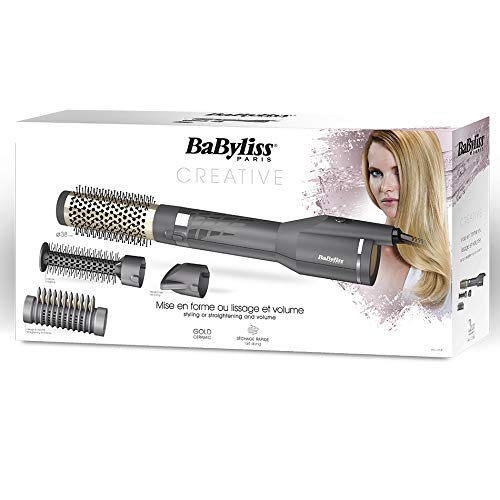 BaByliss AS135E - Spazzola ad Aria Calda 1200W