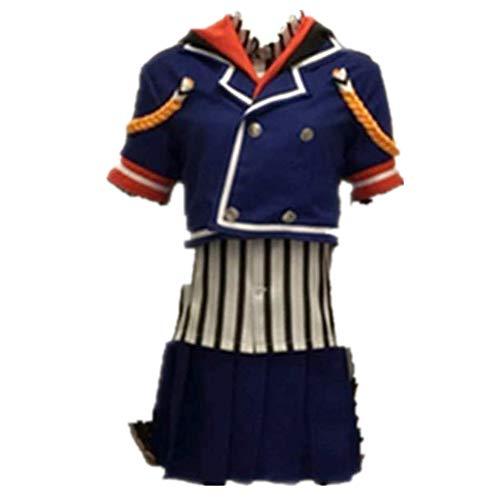 Honkai Impact 3 Bronya Zaychik Uniform Cosplay Costume Halloween (Male XL)