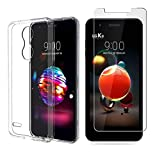 MYLBOO Case and Screen Protector For LG K9,[3 in