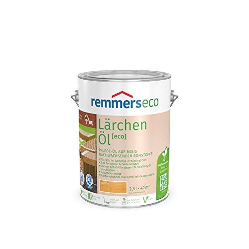 Remmers Gartenholz-Öle [eco] Holzpflege Möbelpflege (5 l, Lärchen-Öl)
