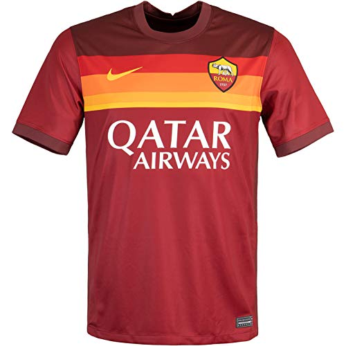 Nike Camiseta del AS Roma, talla L, color rojo