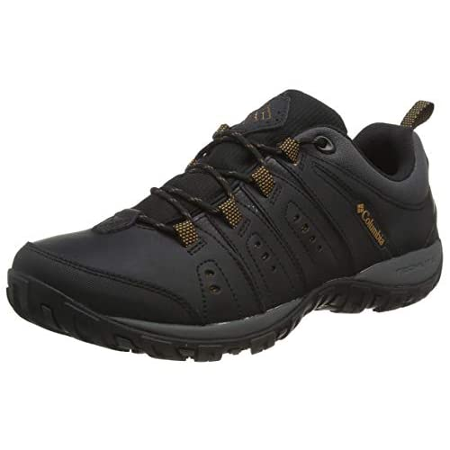 Columbia Men's Woodburn II Walking Shoe, Brown-Cordovan/Garnet-Red