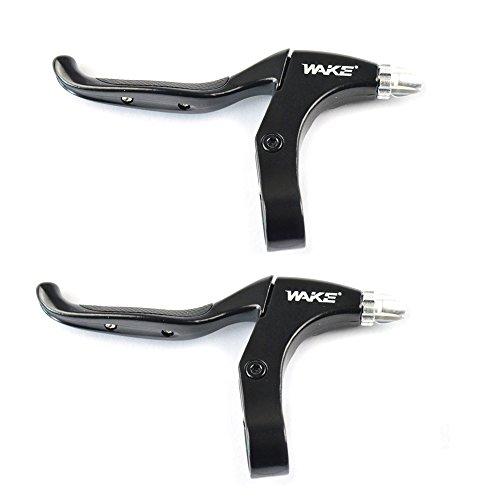 CYSKY Bremshebel 1 para Mountainbike Bremsgriffe 4 Finger 2,2 cm Durchmesser für die meisten Fahrrad, Rennrad, MTB, BMX, Radfahren (Aluminiumlegierung)