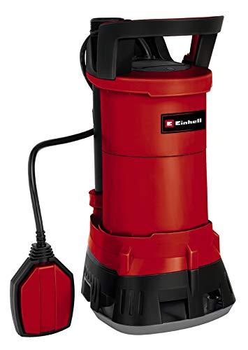 Einhell Schmutzwasserpumpe GE-DP 3925 ECO Power (390 Watt, max. 10.000 l/h, max. 6 m Förderhöhe, Fremdkörper bis 25 mm, stufenloser Schwimmerschalter)