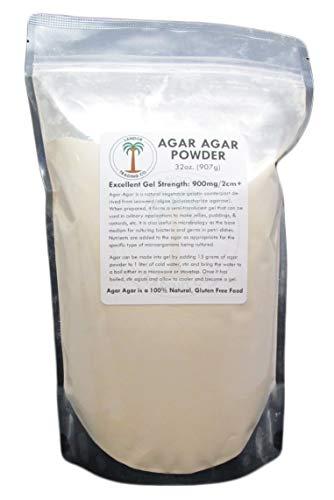 Agar Agar Powder - 2 Pounds, Excellent Gel Strength