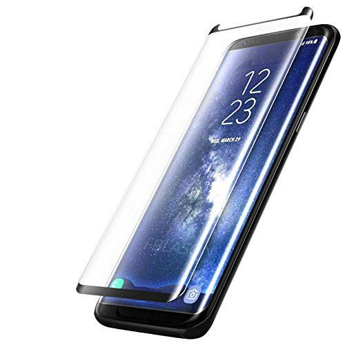 Película de Vidro Curva para Samsung Galaxy S8 Plus, Cell Case, G955, Preto