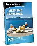 Wonderbox - Cofanetto Regalo festa della mamma - Week End D'EVASIONE - Valido 3 Anni e 3 Mesi