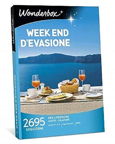 Wonderbox - Cofanetto Regalo - Week End D'EVASIONE - Valido 3 Anni e 3 Mesi