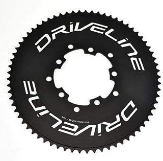 Driveline 69T AL7075 Road Bike Bicycle TT Chainring 69T, BCD 110/130mm, Black, ST1408