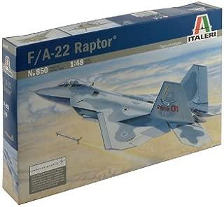 Italeri Models Lockheed Martin F-22 Raptor Plane Model Kit