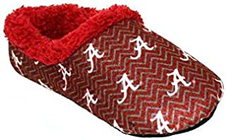 Happy Feet Mens and Womens Officially Licensed NCAA College Chevron Slip On
