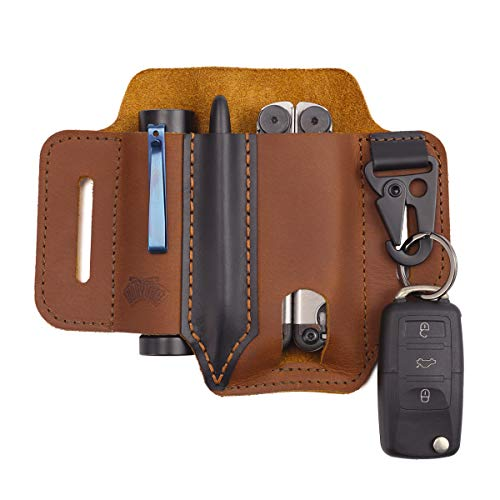 Tourobn Multi Tool Holder Plier Holster Garden Tool Pouch Leather Multitool Sheath