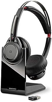 Plantronics b825m Voyager Focus UC Bluetooth Dual-Ear Headset