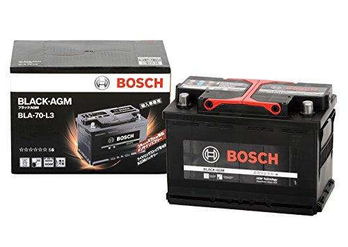 BOSCH (ボッシュ) 輸入車バッテリー ブラック-AGM BLA-70-L3