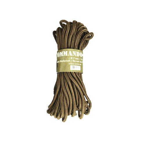g8ds® Commando Seil Coyote 5MM Outdoor 5mm, 7 mm oder 9mm (7mm)
