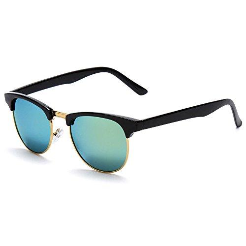 ECYC Occhiali da Sole cateye Occhiali Catani Colorful Retro Occhiali da Mani per la Donna