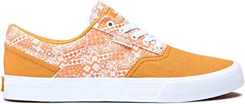 Supra Calzado - Cobalt Low Top Skate Zapatos Desert Print Blanco, 10...