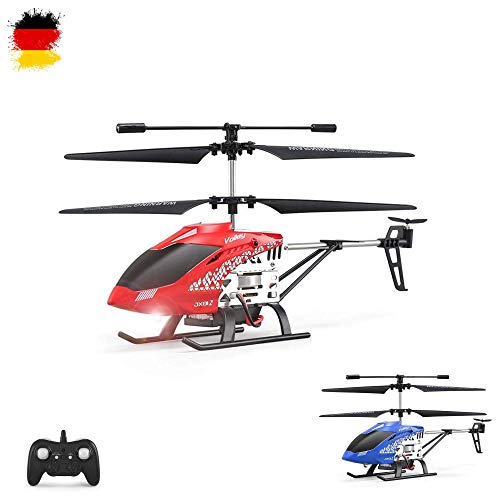 HSP Himoto 3.5 Kanal 2.4GHz RC Ferngesteuerter Mini Hubschrauber, Auto Landen, Abheben, Höhenhaltemodus, Modellbau-Helikopter mit Gyro-Technik inkl. Crash-Kit RTF