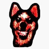 Smile Dog (Creepypasta) Vinyl Waterproof Sticker Decal Car Laptop Wall Window Bumper Sticker 5'