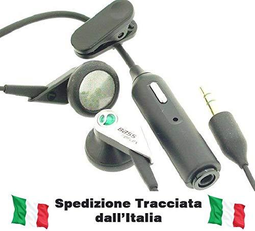 Sony Ericsson Auricolare Stereo BassReflex con Tasto di Risposta e Microfono X U5 Vivaz Kurara, Xperia X2, Xperia X10