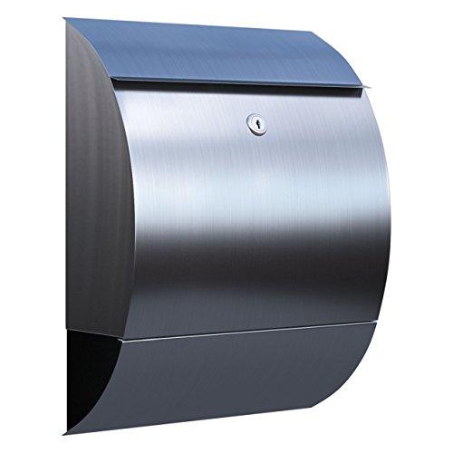 Briefkasten, Design Wandbriefkasten Sunshine Edelstahl - Bravios