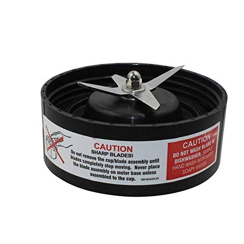 (GG) Blender Blade Replacement Extraction Blade & Gasket,Fits Nutribullet RX NB-301 1700W Blender