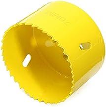 HELEISH Broca cortadora de sierra de metal M42 de 70 mm M42 Herramienta accesoria