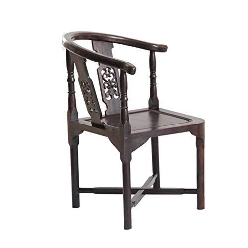 Household Necessities/tuinstoel, vrijetijdsstoel, senioren, balkonstoel, outdoor, visstoel, douchekstoel, lente, ebbenhout, badkruk, zitbanwissel. 41CM*41CM*59CM Bruin