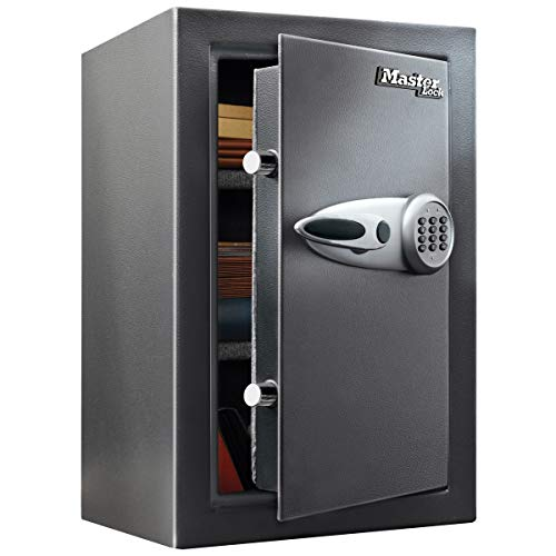 MASTER LOCK High Security Safe [Digital combination] [Large 61,7 L] - T6-331ML - Protect your valuables against thefts