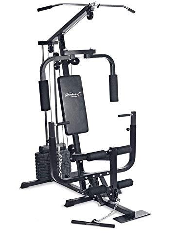 Nova - Estación de fitness multifuncional con máquina de caza, prensa para...