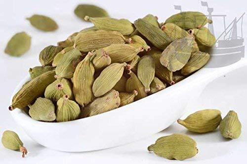 Cardamom Kapseln, grün, 50g, Gewürz zum Backen oder Kochen oder für Tee, 1. Sorte-