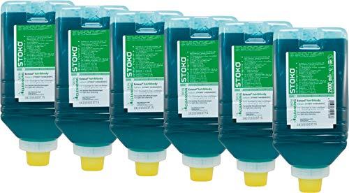 Stoko Hautreinigungsgel Estesol hair&body, parfümiert, Großpackung 6 Softflaschen a´ 2000ml