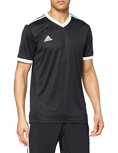 adidas TABELA 18 JSY T-Shirt, Hombre, Black/White, S