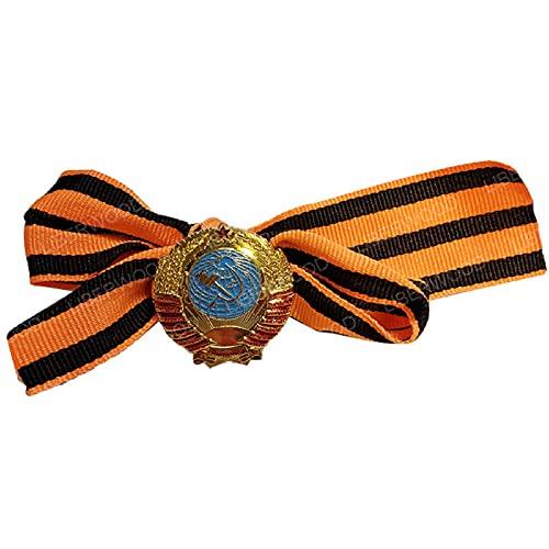 Estrella ROJA FSB Pin WWII URSS CCCP soviético Rusia Guardias rusos Insignia Emblema de águila Imperial Insignia de Lenin Medalla de Honor Broche colgante-A12
