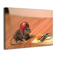 Skydoor J パネル ポスターフレーム ネズミとチーズ インテリア アートフレーム 額 モダン 壁掛けポスタ アート 壁アート 壁掛け絵画 装飾画 かべ飾り 30×20